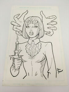 OA-Original-Art-DAN-PARENT-Sabrina-cover-afterlife-with-archie-11-034-by-17-034