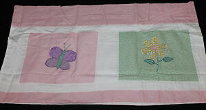 Pem America My World Spring Meadow Window Valance butterfly girls decor #4100