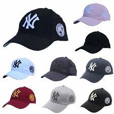 NEW Unisex New York NY Yankees Baseball Mens Women Hat Sport Snapback Cap Cotton