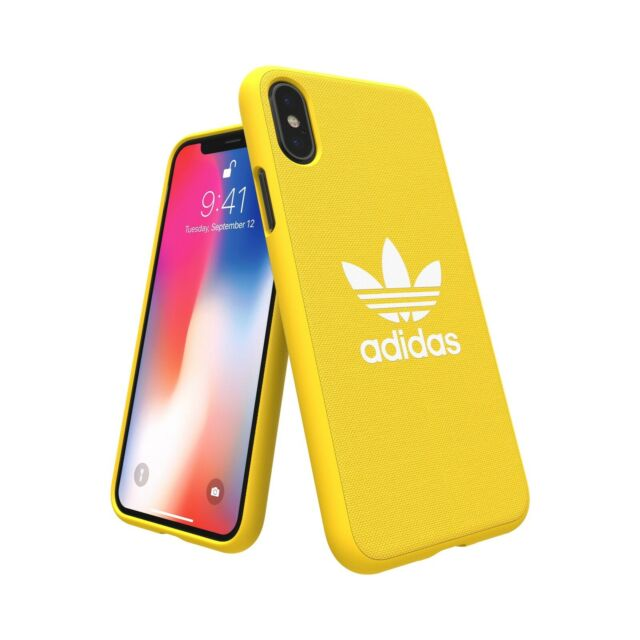 promo code eb112 d48ae adidas Originals Snap MOULDED Case / Cover for Apple iPhone X - Yellow