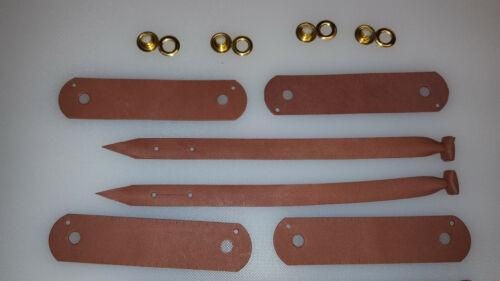 alymeri Bracelets De Cheville Marron Falconry Jess Noir Ou Naturel Pour Kestrel-Red Tail