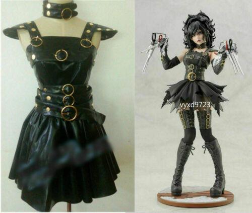 Edward Scissors Hand Girl Dress Cosplay Costume