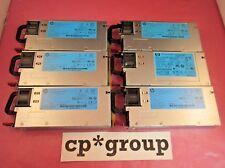 LOT OF 6 HP 511777-001 503296-B21 460W HE Hot Plug Server Power Supply G6 G7