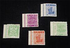 nystamps Japan Ryukyu Islands Stamp # 1a // 6a Mint H