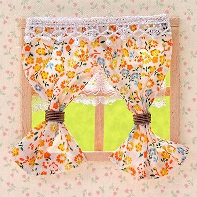 Sylvanian Families Calico Critters Medium Floral Curtains