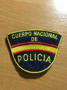 Parche-de-policia-POLICIA-NACIONAL-ESPANA-Original