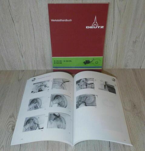 Deutz Werkstatthandbuch Fahrgestell für Traktor D2506