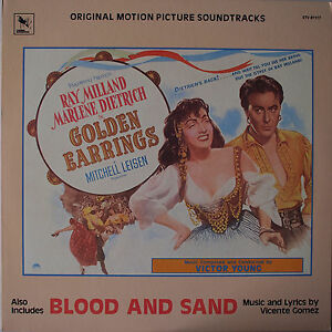 OST-vinyl-LP-record-Golden-Earrings-Victor-Young-Blood-and-Sand-Gomez