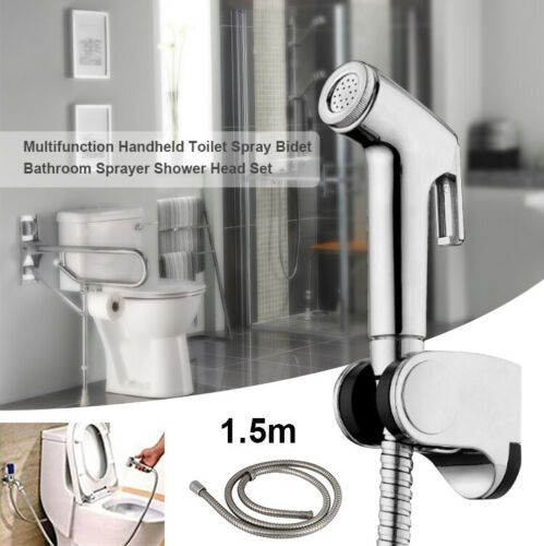 Edelstahl Bidet Sprayer Dusche Wasser Sprühkopf WC Toilette Spritzpistole set