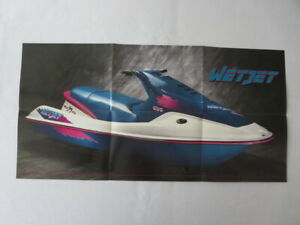 1993 Wetjet Duo Personal Watercraft Boat Jetski Sales Brochure Ebay