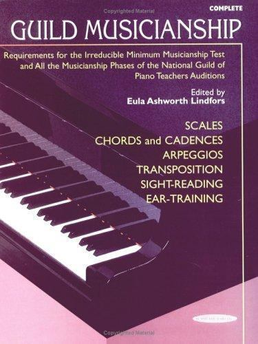 Guild Musicianship Book - Scales, Chords and Cadences [ Lindfors, Eula Ashworth