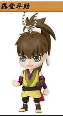 Takara Hakuoki Shinsengumi Kitan Deformed Figure Key chain Swing Heisuke Toudou