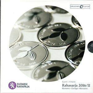 SÉRIE EURO BRILLANT UNIVERSEL (BU) - FINLANDE 2016 II