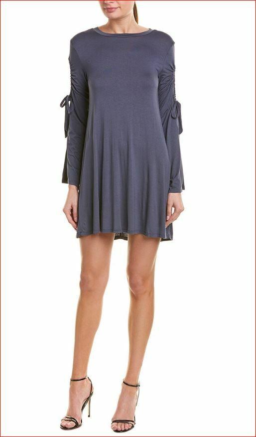 Neu BCBGeneration Damen Kleid Hemd KRK63P22-C45 102018 Marineblau GRÖSSE S Msrp
