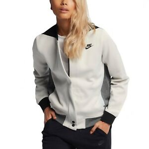 Détails sur BNWT Large Femme Nike Tech fleece Destroyer Light Bone Veste 884427 072 afficher le titre d'origine