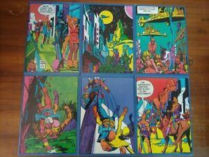 lotto-6-quaderni-vintage-star-hawks-auguri-mondadori-anni-70-fondo-magazzino