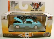 1965 '65 FORD MUSTANG GT 2+2 FASTBACK M2 MACHINES DETROIT MUSCLE R32 DIECAST