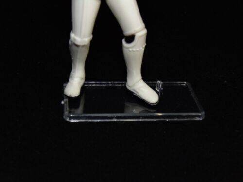 Pack of 100 Star Wars Modern Action Figure Display Stands Wide Stance POTF2 T5c