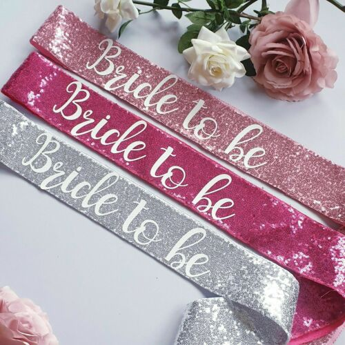 Bride to be Hen Night Do Party Sashes Bride To Be Bridesmaid Team Bride Sash