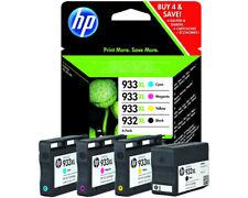 Artikelbild HP 932XL/933XL Tintenpatrone 4er-Pack Schwarz Cyan Magenta Gelb C2P42AE