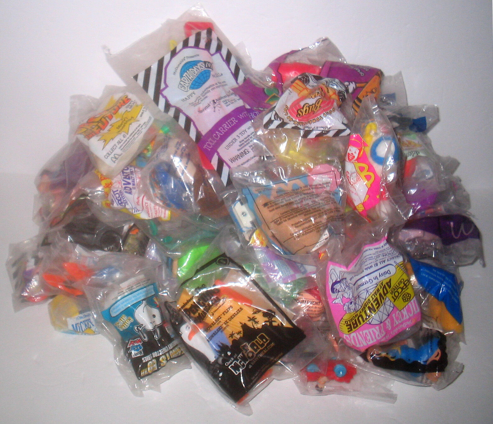 NEW 60 Fast Food    McDonald's Happy Meal Toys NEW