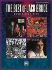 The Best of Jack Bruce by Alfred Publishing Co., Inc. (Paperback / softback, 2009)