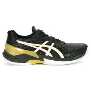ASICS Men's Sky Elite FF Black/White Volleyball Shoes 1051A031.001 NEW