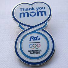 2012 London Summer Olympic P&G Thank You Mom Pin