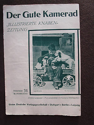 Der Gute Kamerad 1930 Hund Eisenbahn Signal Föhn Tierpark Hagenbeck Joseph Roth Seien Sie Freundlich Im Gebrauch