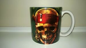 Disney-Store-Pirates-of-the-Caribbean-Large-Coffee-Cup-Mug-Excellent