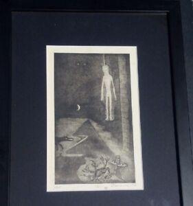 Anton-PRINNER-gravure-signee-n-1-25-tarot-Egypte-esoterisme-papyrogravure-1948