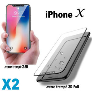 Vitre-Verre-Trempe-iPhone-10-X-Protection-Film-Protege-Tempered-Glass