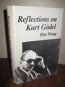 1st-Edition-REFLECTIONS-ON-KURT-GODEL-Hao-Wang-PHILOSOPHY-Science-MEMOIR-Classic