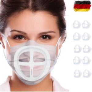 🤩10/5/3 Masken Abstandshalter Atemhilfe 3D Mund-Nasen-Masken-Halter Mundschutz