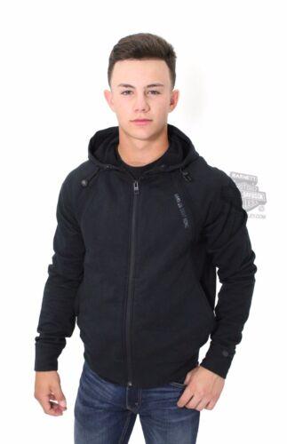 davidson à en des noircoupe avec slimnoir capuche tissu empiècehommest Sweat avec étiquettes Harley b6gyf7