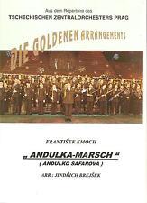 Blasmusiknoten Andulka-Marsch / Andulko Safarova