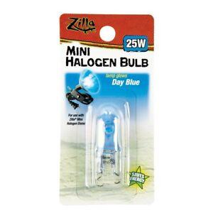 Zilla Mini Day Blue Halogen Bulb For Reptile Terrariums