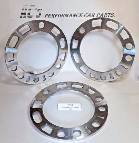 """5 and 6 Hole 4X4 Standard Wheel Spacer - SP16//5 5.5/""""//139mm PCD 5mm thick GQ"""