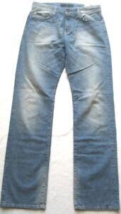 CALVIN-KLEIN-Herren-Jeanshose-USED-OPTIK-Gr-30-Blau