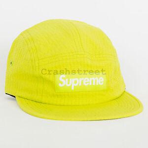 60d93aa6e1c Details about Supreme SS17 Tonal Seersucker Camp Cap logo shirt box hat tee