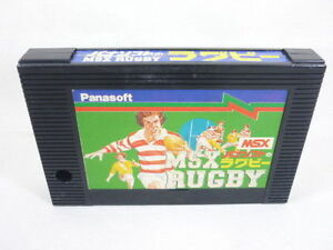 MSX-RUGBY-Panasoft-Cartridge-only-Import-Japan-Video-Game-msx
