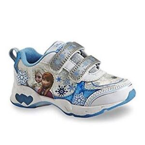 newest collection 53f3e 3cb92 Details about Disney Frozen Ann&Elsa Kid Mädchen Blink Licht Turnschuhe  Schuhe Sneakers 28 30