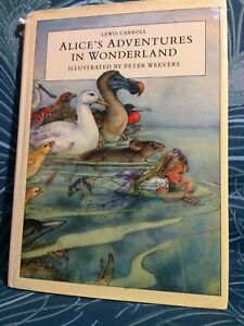 ALICE-039-S-ADVENTURES-IN-WONDERLAND-Lewis-Carroll-Peter-Weevers-Christmas-TBLO