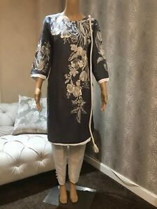 Other Women's Clothing Women's Clothing Pakistani Khaddar Embroidered Stitched Kurta Suit Waterproof Shock-Resistant And Antimagnetic