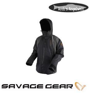 SAVAGE GEAR-Black Savage Jacket Grey-Différentes Tailles - 100% étanche  </span>