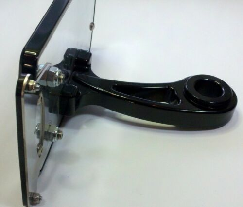 Viper Motorcycle Company Axle License Plate //Tag Mount Assembly Black