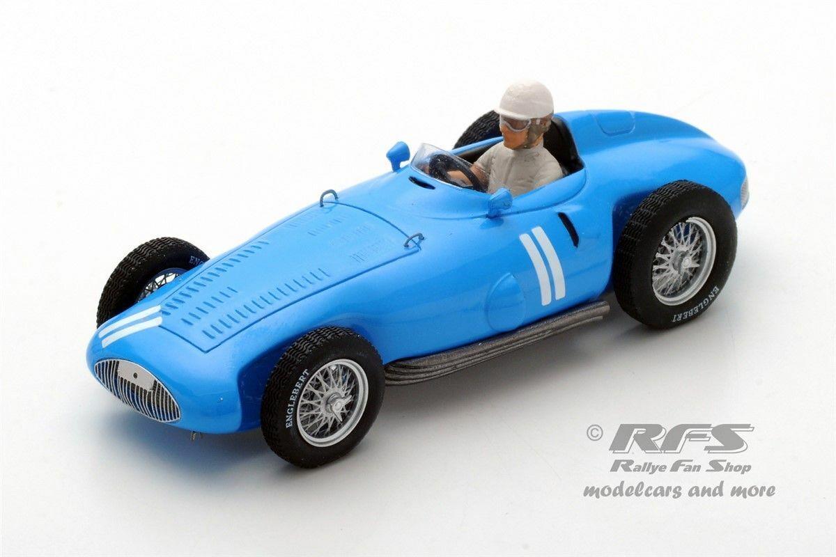 Gordini T32  Andre Milhoux  Formel 1 Deutschland 1956  1 43  Spark 5314 NEU  | Spielzeugwelt, fröhlicher Ozean