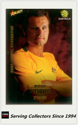 2008-09 Select A League Socceroos Card SR25:Mark Viduka