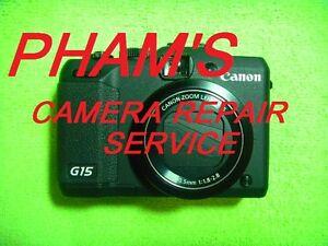 CAMERA REPAIR SERVICE FOR CANON S110 USING GENUINE PARTS-60 DAYS WARRANTY