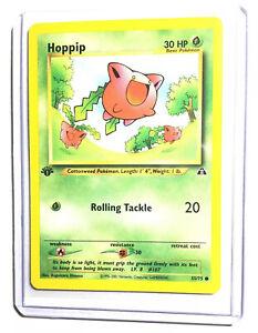 Pokemon Neo Discovery Common Card #55//75 Hoppip